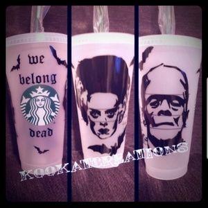 Frankenstein Starbucks Venti cup